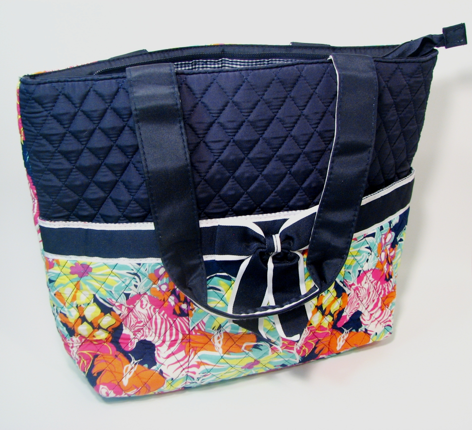 Fiore 6747.Ngil Diaper Bag Set Three Piece Quilted Bag New