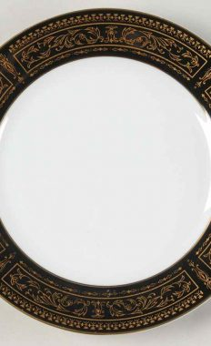 Seyei Fine China Anniversary 7018 Bread And Butter Plate 6.5″