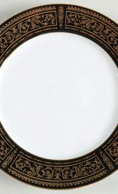 Seyei Fine China Anniversary 7018 Salad Dessert Plate 7.5 Inch