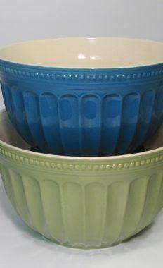 Certified International Ware Ceramic Mixing Nesting Serving Bowls